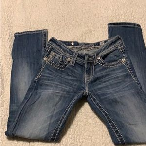 Miss me girls jeans like new size 10